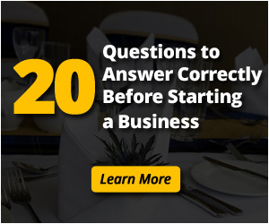 20 Questions to Answer Correctly Before Starting a Business