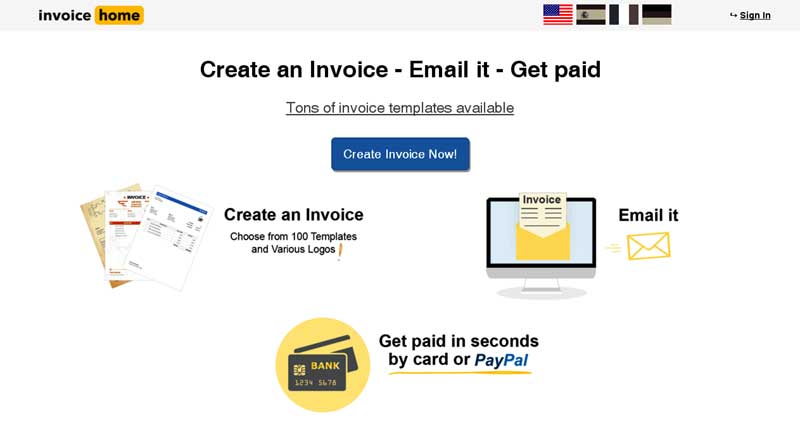 invoice software and templates where all entrepreneurs and small