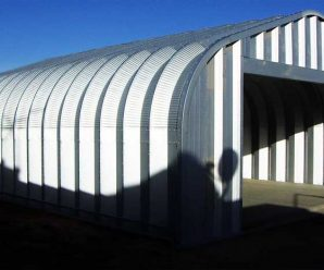 Steel-Built Garage