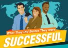 What They Did Before Success
