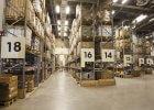 warehouse aisle signs