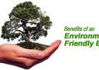 Benefits of an Environmentally Friendly Business